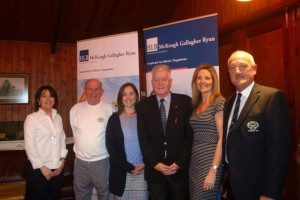 Pictred at the official launch of the South of Ireland Vets Tournament