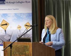 Joan Garaghy, Clearview Investments and Pensions pictured at the Mid West Society of Chartered Accountants Spring Ladies event, sponsored by HLB McKeogh Gallagher Ryan