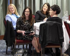 Joan Garahy, Lousie Lawlor, Laura Bourke and Karen McGuinness