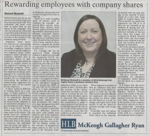 Employee Share Incentive Schemes – Beware Of The Tax Pitfalls For Employees!