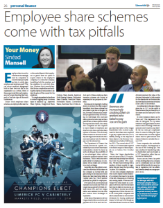 Employee Share Schemes Come With Tax Pitfalls