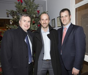 Brian Shanley, Cian McInerney and Eoin Gallagher