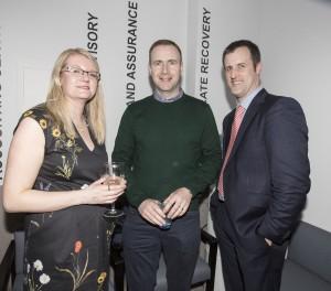 Anne Hogan, David McDonnell, Eoin Gallagher