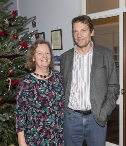 Jane Harris and Kevin Jackson