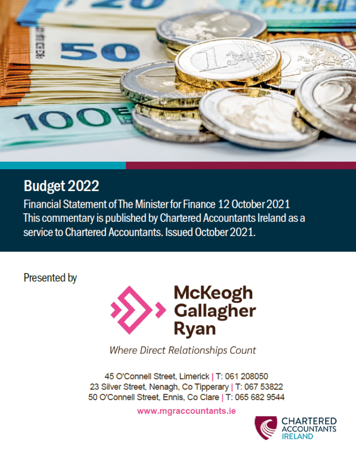 Cover Image of MGR's Budget 2022 Summary